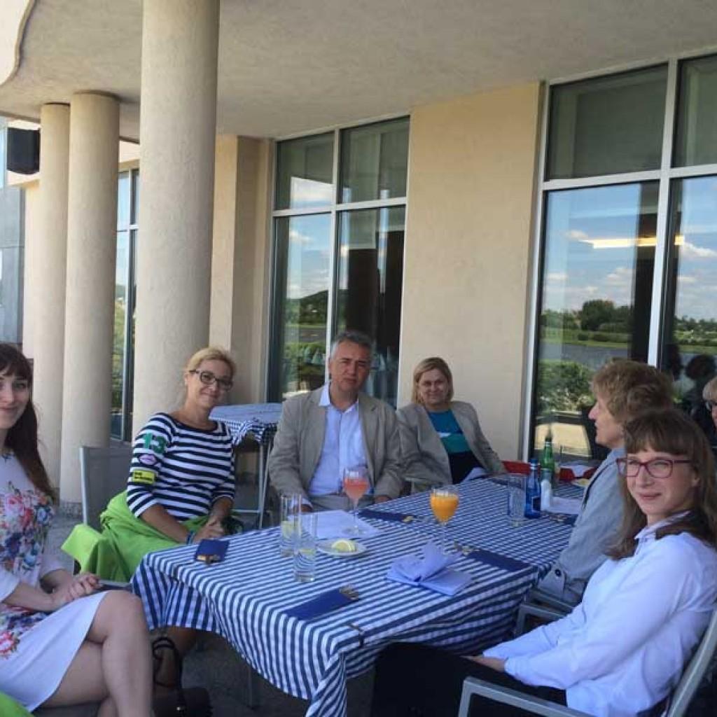 Spotkanie zespolu projektowego