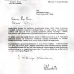 pismo min. Kwiatkowskiego
