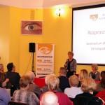 Powitanie gości przez Małgorzatę Pacholec, Prezes Retina AMD Polska