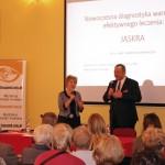 Wiceminister Marek Tombarkiewicz wyraził uznanie dla działań stowarzyszenia Retina AMD Polska