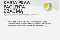 Karta Praw Pacjenta z Zaćmą