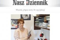 """Artykuł """"W kolejce Po wzrok""""- Nasz Dziennik"""
