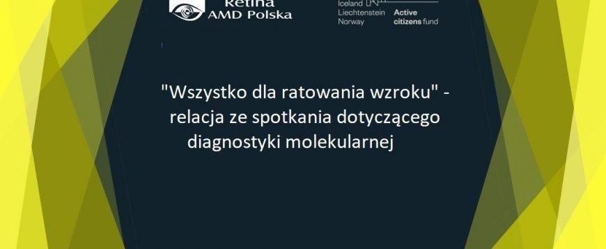 Relacja ze spotkania z dr hab. n med. Agnieszką Pollak