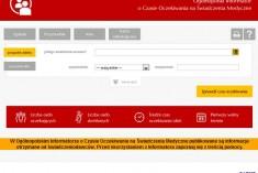 Informacja dla pacjentów o kolejkach w dostępie na świadczenia