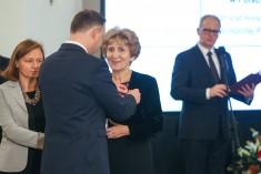 Kawalerski Order Odrodzenia Polski dla prezes Retina AMD