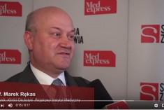 prof. Marek Rękas o programie lekowym wAMD