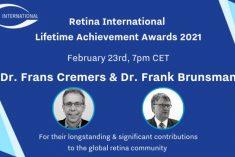Zaproszenie Retina International na webinar Lifetime Achievement Awards – aktualizacja